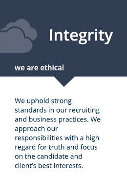 integrity: we are ethical